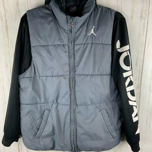 JORDAN Puffer Vest Jacket Size L (12-13 years)